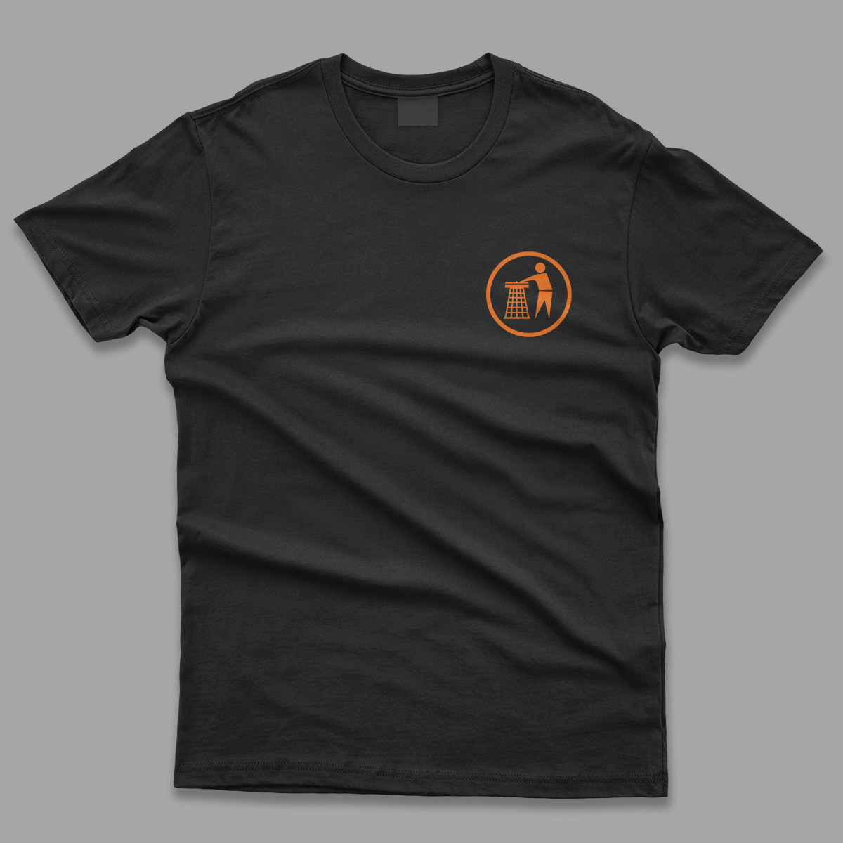 Tidy Classic Logo Orange