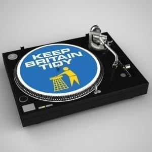 Keep Britain Tidy Slipmats Blue
