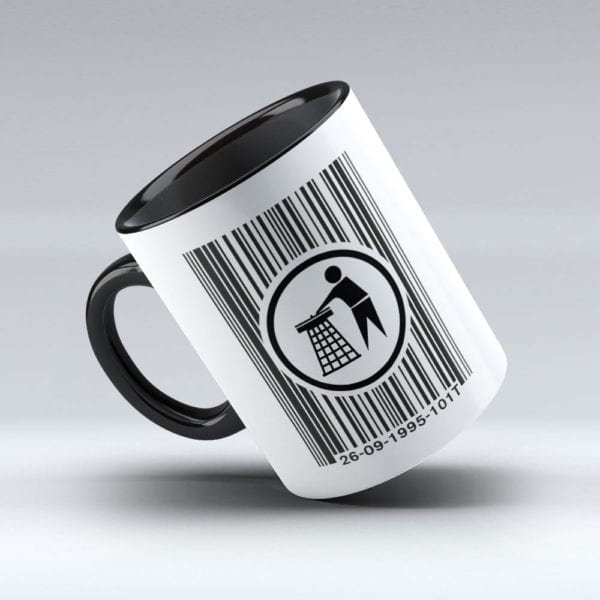 Tidy Logo Barcode Mug