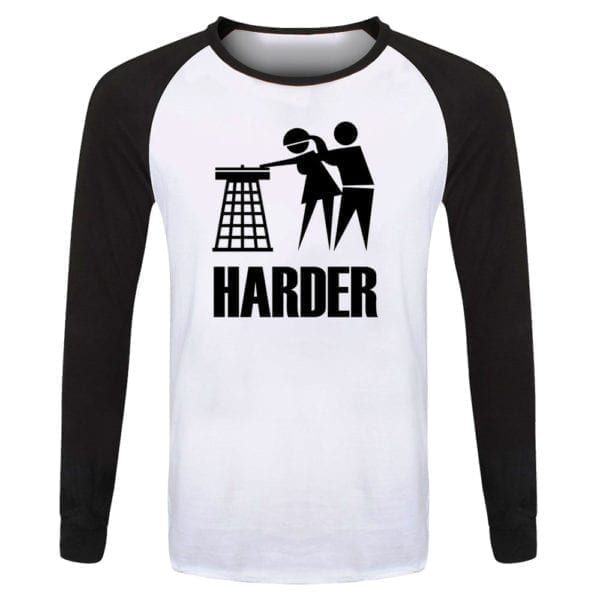 Harder Faster Baseball Top