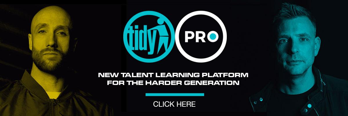 Tidy Pro Banner advert