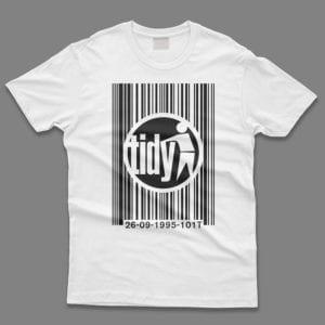 Tidy Logo Barcode T-Shirt