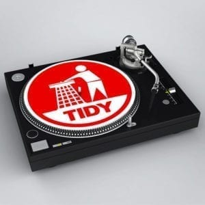 Tidy Retro Slipmat Red