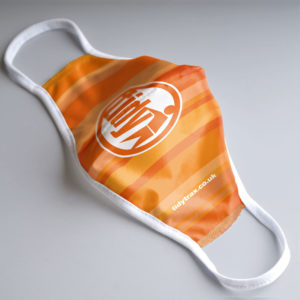 Tidy Face Mask Orange