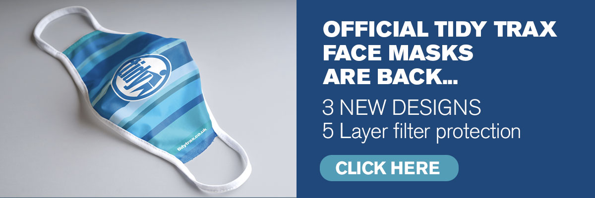 Tidy Face mask banner