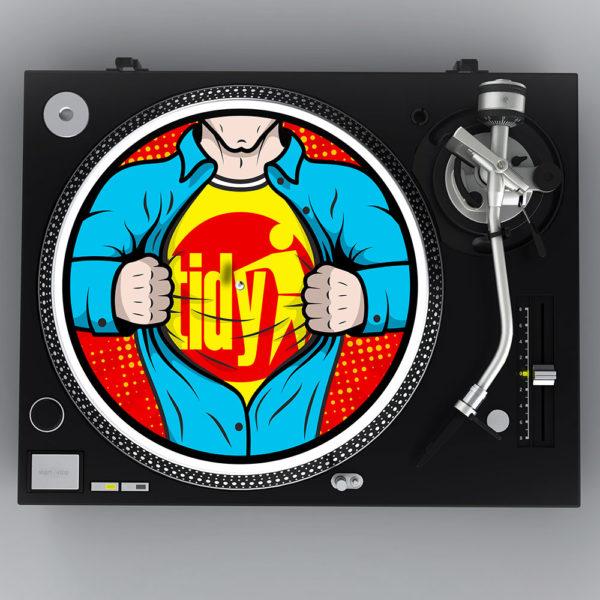 Superman slipmats