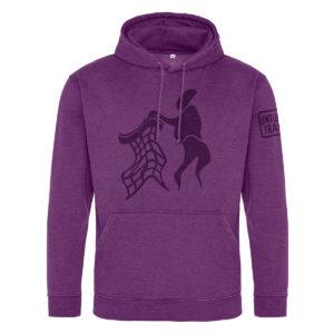 Untidy Hoodie Purple