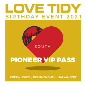 TIDY PIONEER VIP TICKET