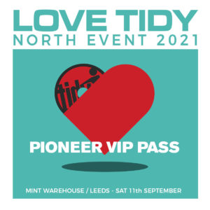 Pioneer love Tidy North VIP ticket