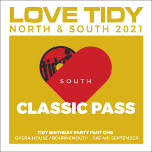 Love Tidy South classic Ticket