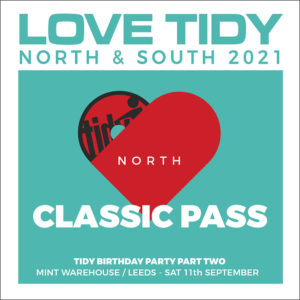 LOVE TIDY north Classic ticket