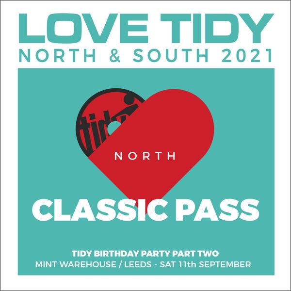 LOVE TIDY north Classic ticket