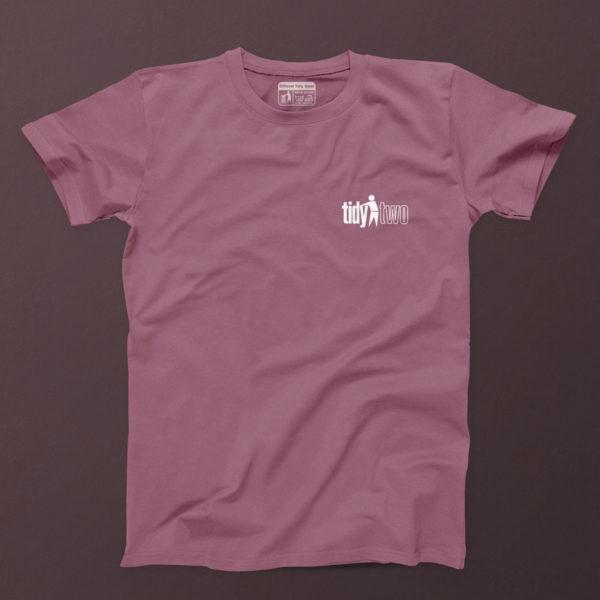 tidy two t shirt Mauve