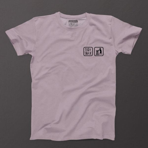 Mens Tidy t-shirt Lilac