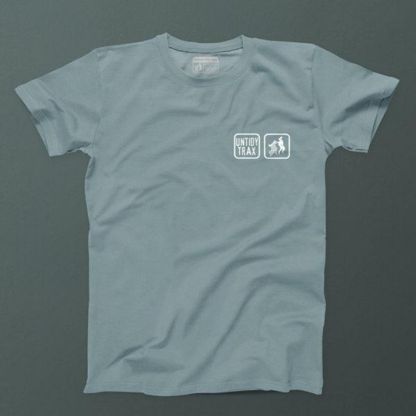 untidy T shirt Citadel-Blue
