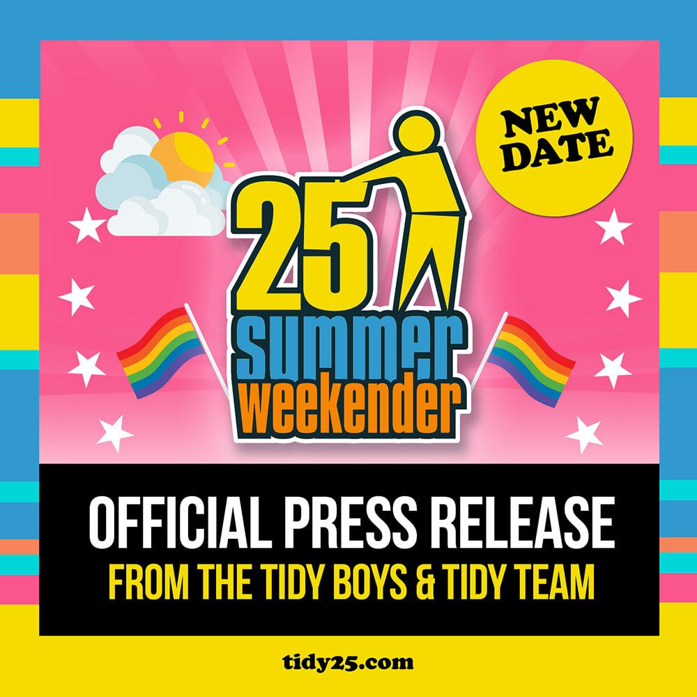TW25 Press Release