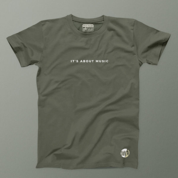 its all about the music Khaki