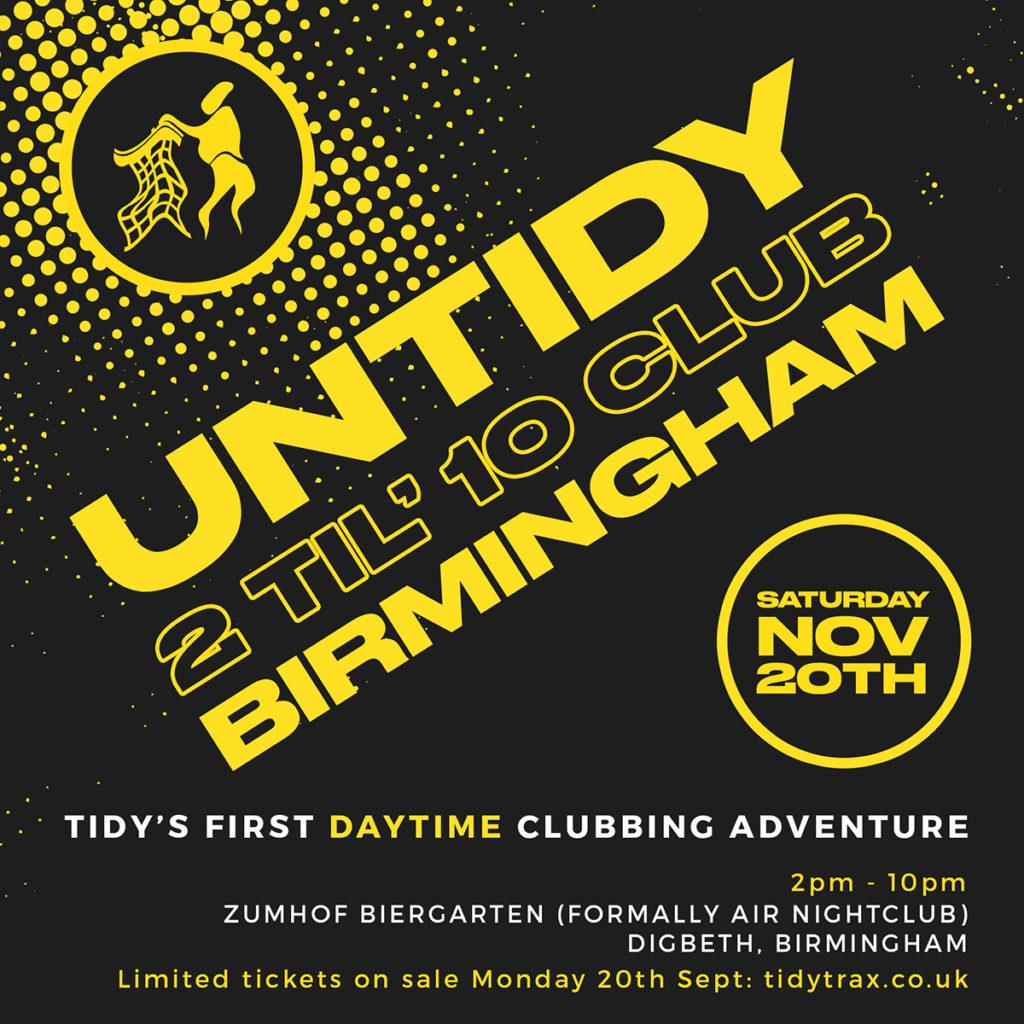 Untidy Birmingham