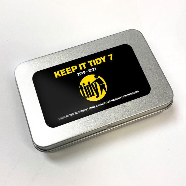 Keep It Tidy 7 USB tin