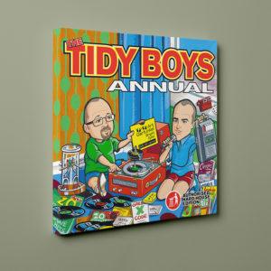 tidy boys annual canvas